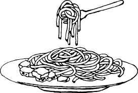 Resultado De Imagen Para Dibujos Platos De Espaguetis Espaguetis Hojas Para Colorear Colores