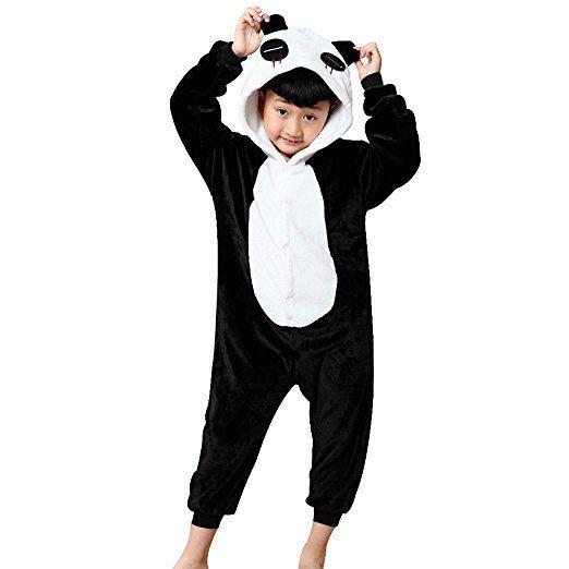 68eb535acddc2 JT-Amigo Pyjama Combinaison Animaux Costume Déguisement Cosplay Enfant  Fille Garçon