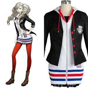 Persona 5 Haru Okumura Dress Uniform Anime Cosplay Costume Halloween Custom Made