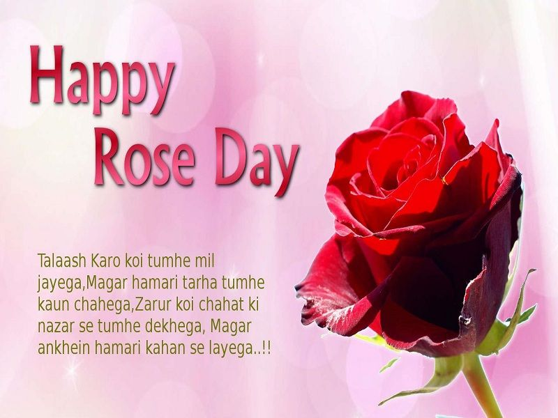 Romantic Rose Day Sms Valentines Day Quotes Images Happy Valentine Day Quotes Wishes Images