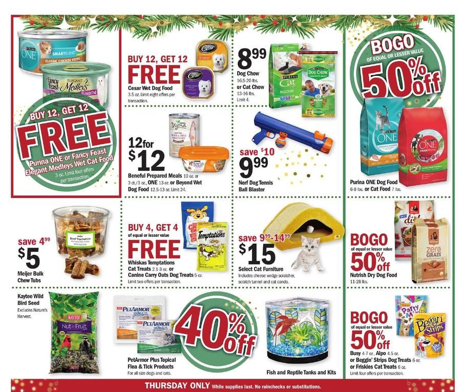Meijer Thanksgiving 2017 Ad Scan Deals And Sales The Meijer