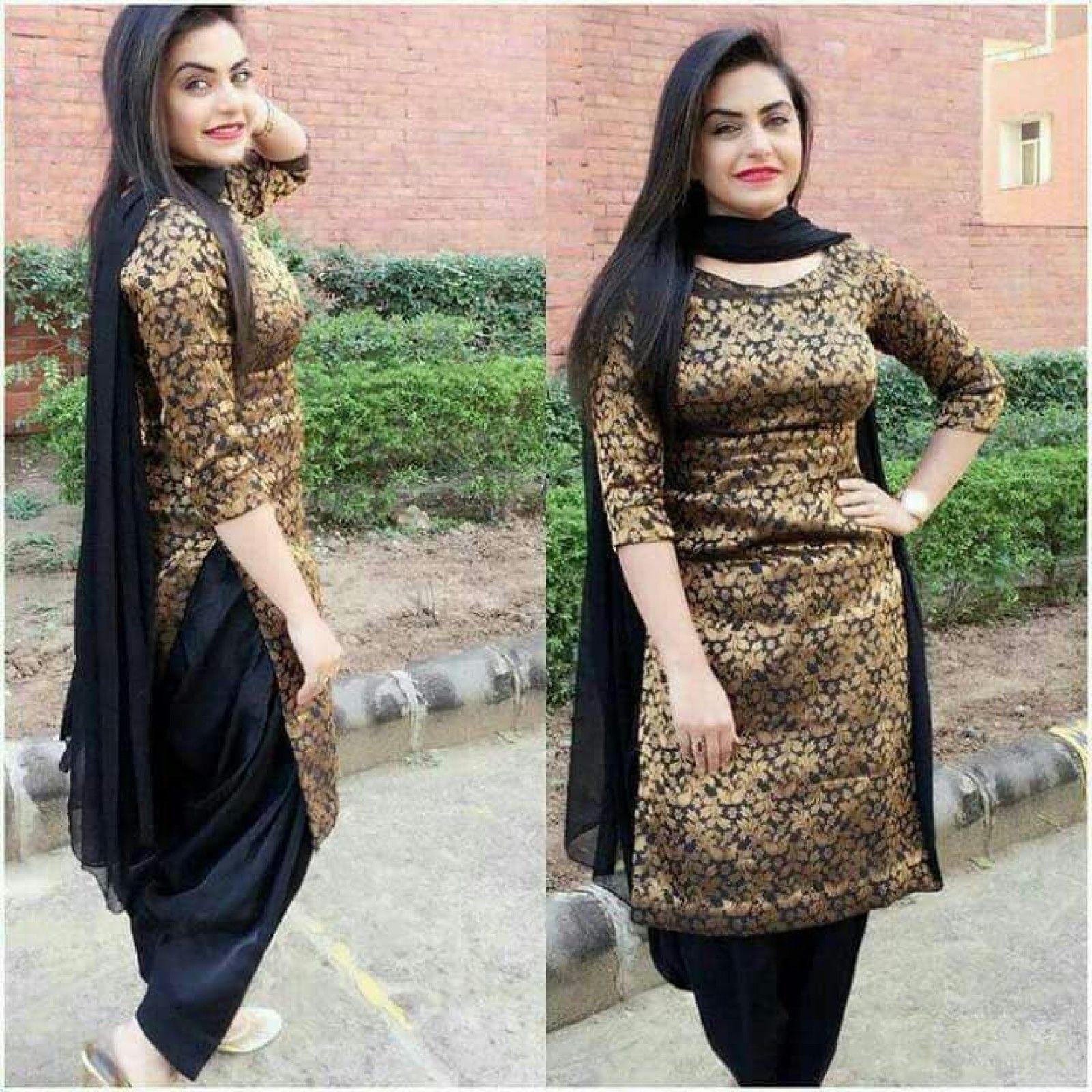 e3d7ebf289 Brocade UnStitched Salwar Suit Dress Material (Black) in 2019 ...