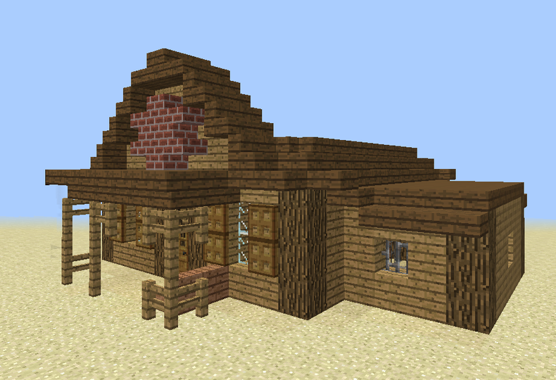 Wild West Sheriffs Office Grabcraft Your Number One Source For Minecraft Buildings Bluepri Minecraft Minecraft House Tutorials Minecraft Houses Blueprints