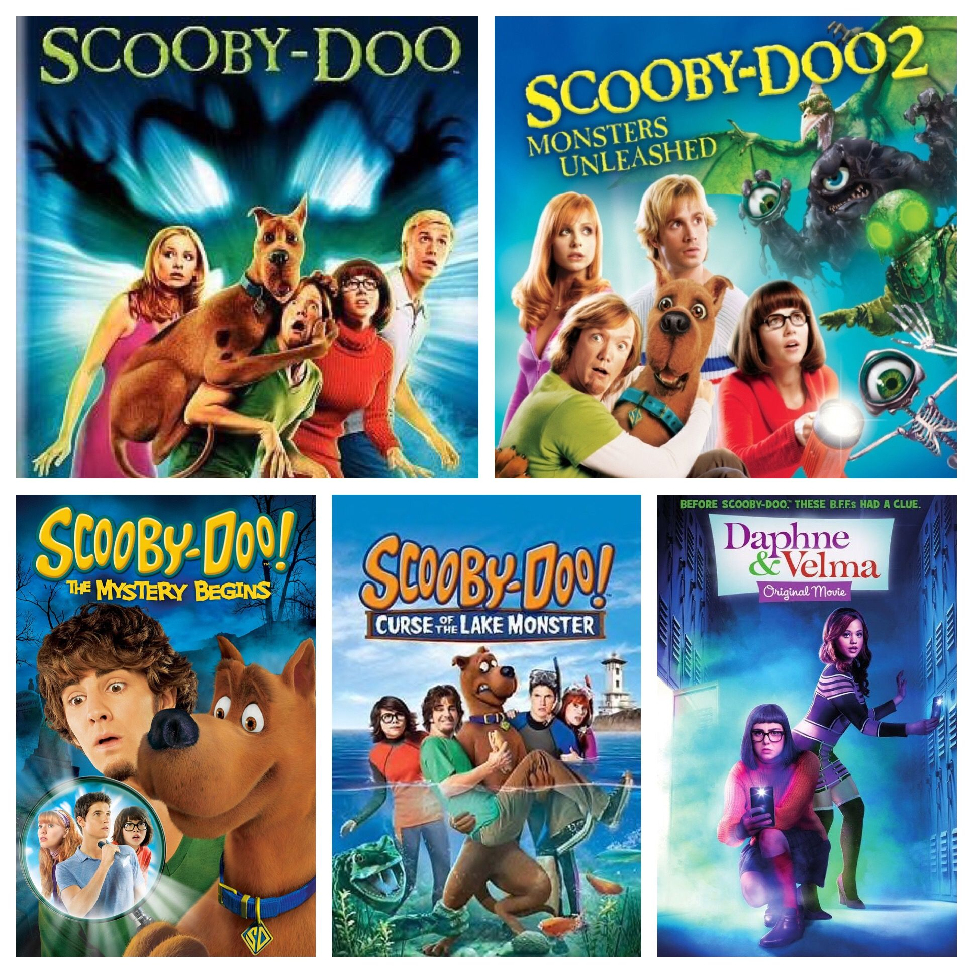 All Live Action Scooby Doo Movies Scooby Doo Scooby Doo 2 Monsters Unleashed Scooby Scooby Doo Movie Scooby Doo Mystery Incorporated Scooby Doo Mystery Inc