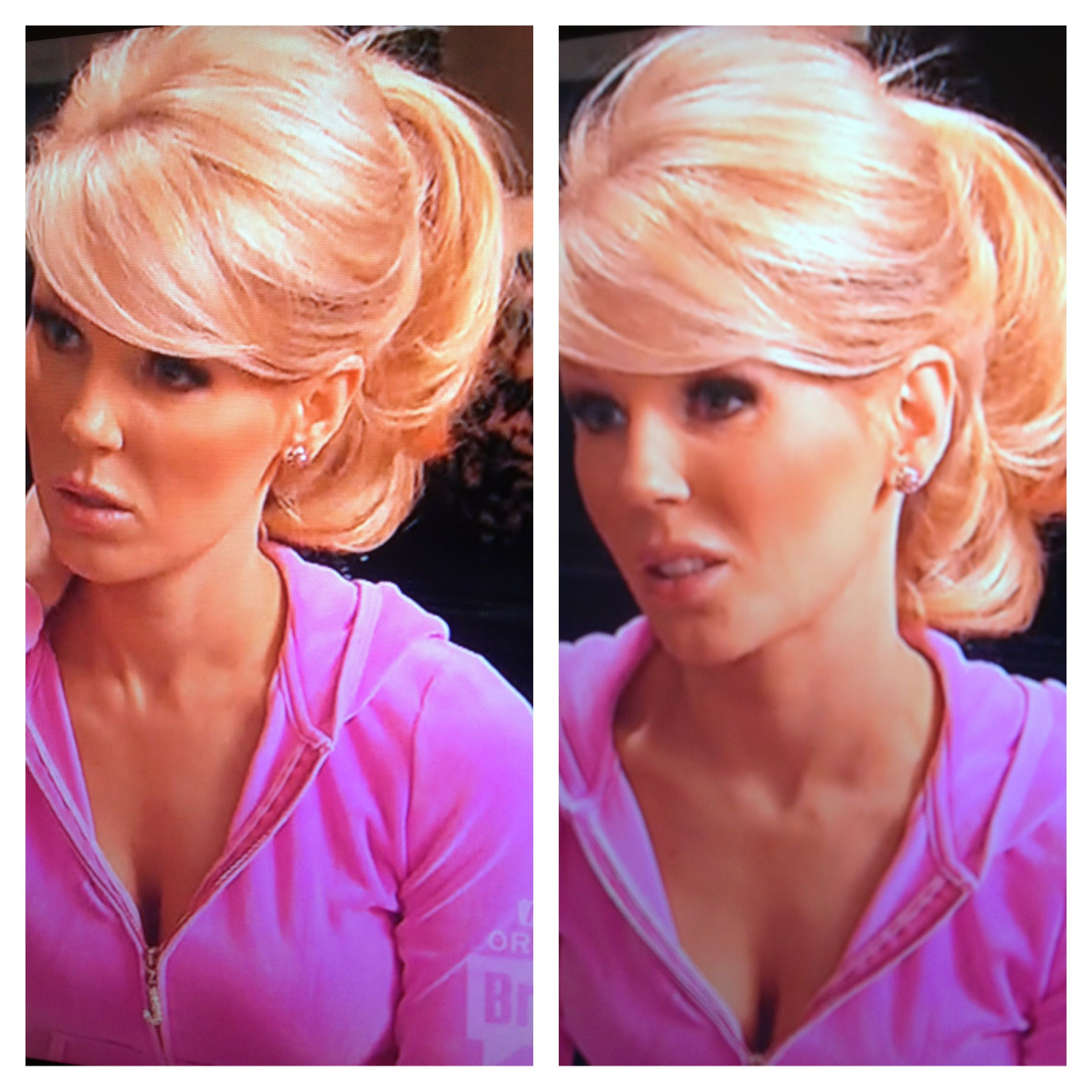 Gretchen Rossi Sexy And Full Of Volume Ponytail Love This