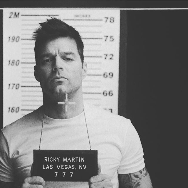 On My Way To Lasvegas Ricky Martin Las Vegas Cleft Chin