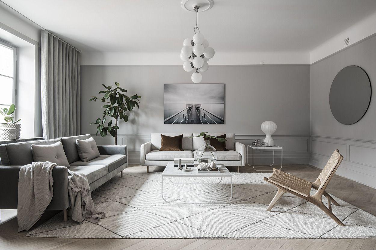 Grey living room living room blog pinterest huis kleuren