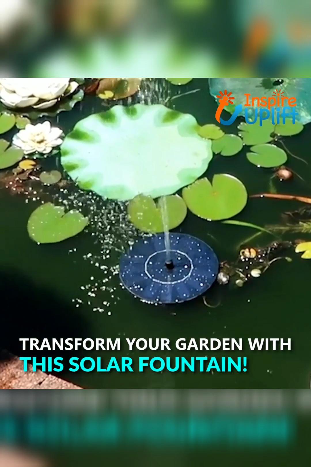 Photo of Solargartenbrunnen 😍