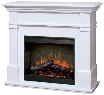 Dimplex Symphony Maestro Kenton Free Standing Electric Fireplace In White H Electric Fireplace Corner Electric Fireplace Electric Fireplace Heater