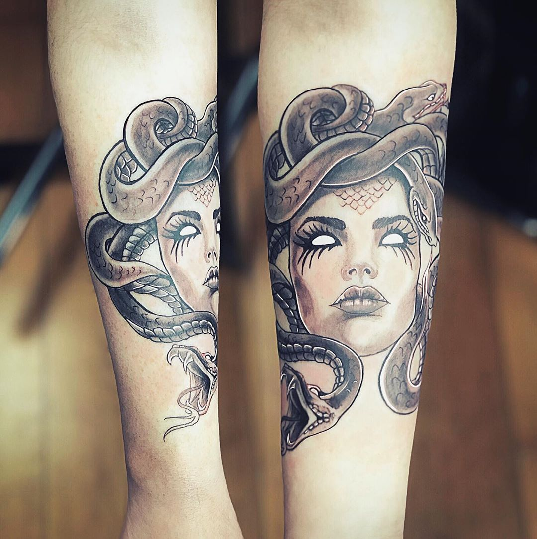 Remove Tattoo Laser Medusa Lady Danger Thanks Vanessacollins65 It Was Amazing To Meet U Medusatattoo Tattoo Sleeve Tattoos Medusa Tattoo Tattoos