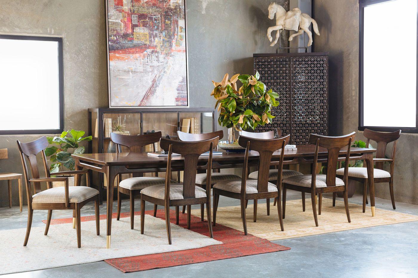 Thomasville Ellen DeGeneres Westwood Walnut Rectangular Dining Table