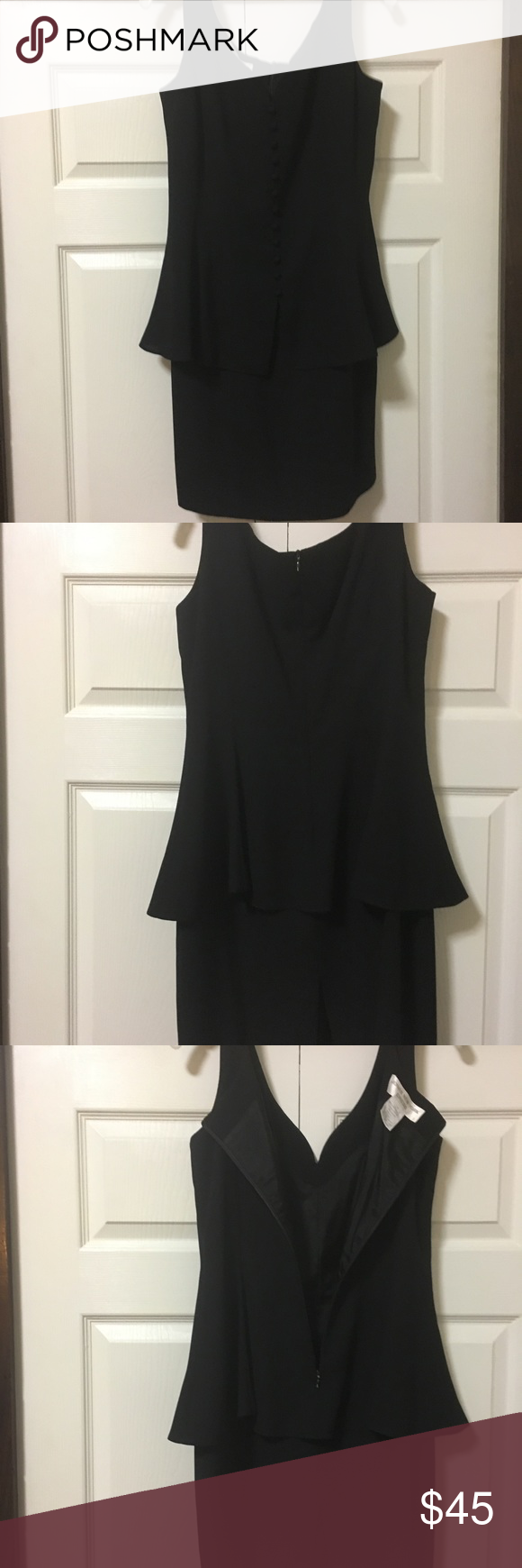 Jones New York Black Dress Size 12 Clothes Design Jones New York Black Dress [ 1740 x 580 Pixel ]