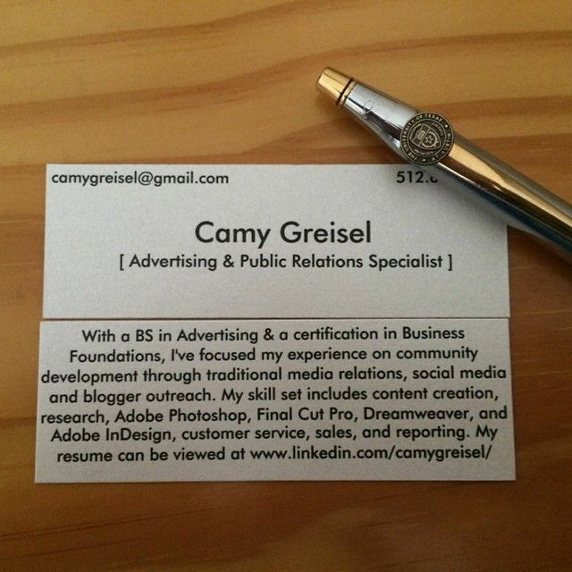 Woo Hoo My Mini Resume Cards Just Came In Pr Atx Zazzlemade Business Foundation Media Relations Public Relations