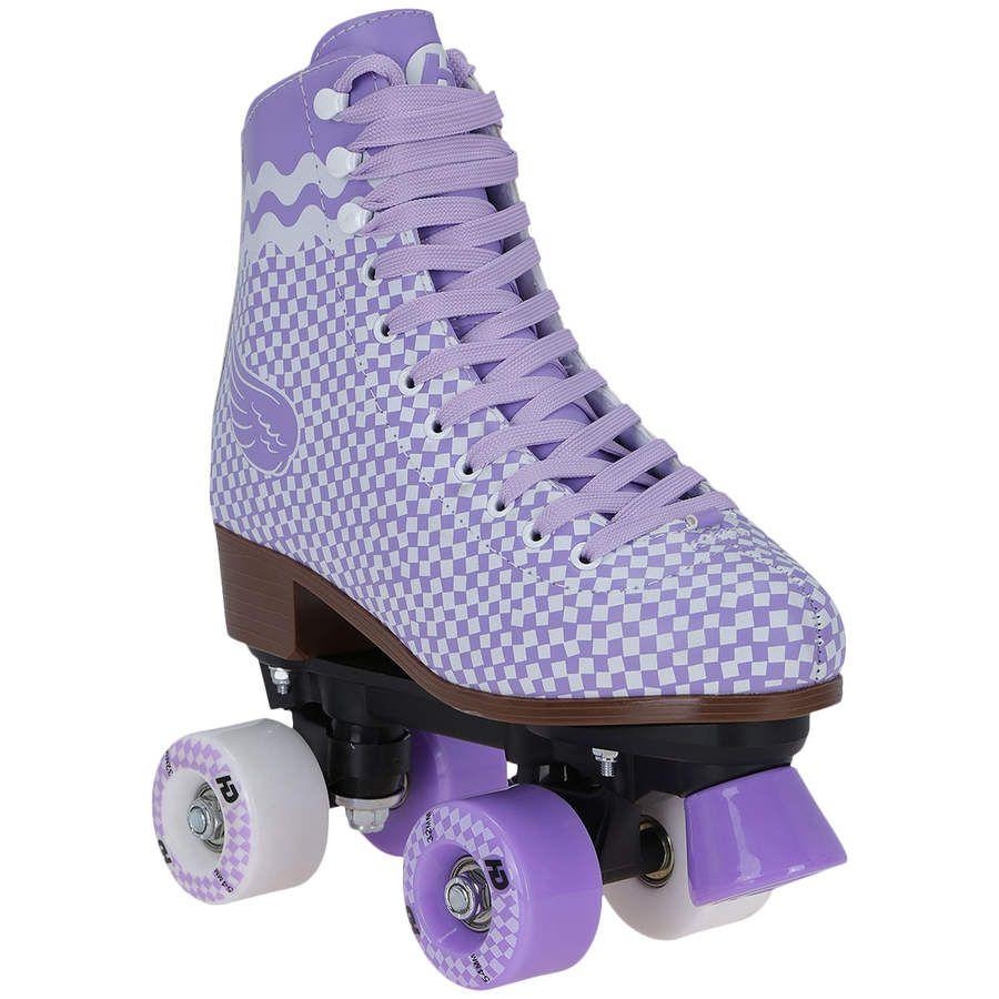 Patins 4 Rodas Retrô Creme Pat - Quad - Adulto   Rollers in 2019 ... 9dd0aa5a96