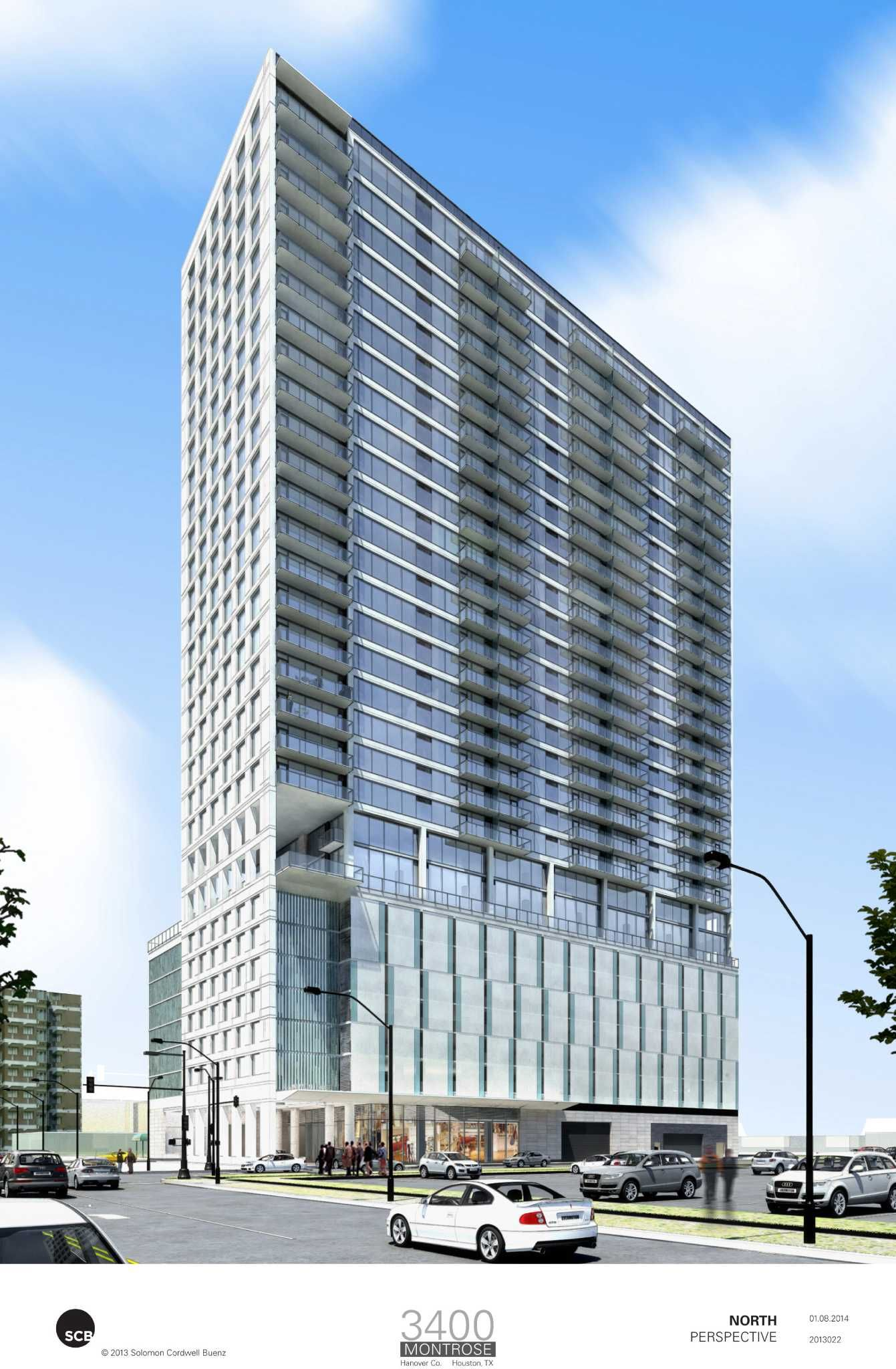 30 Story Apartment Tower Planned For Montrose Multi Storey Building Building Design Montrose
