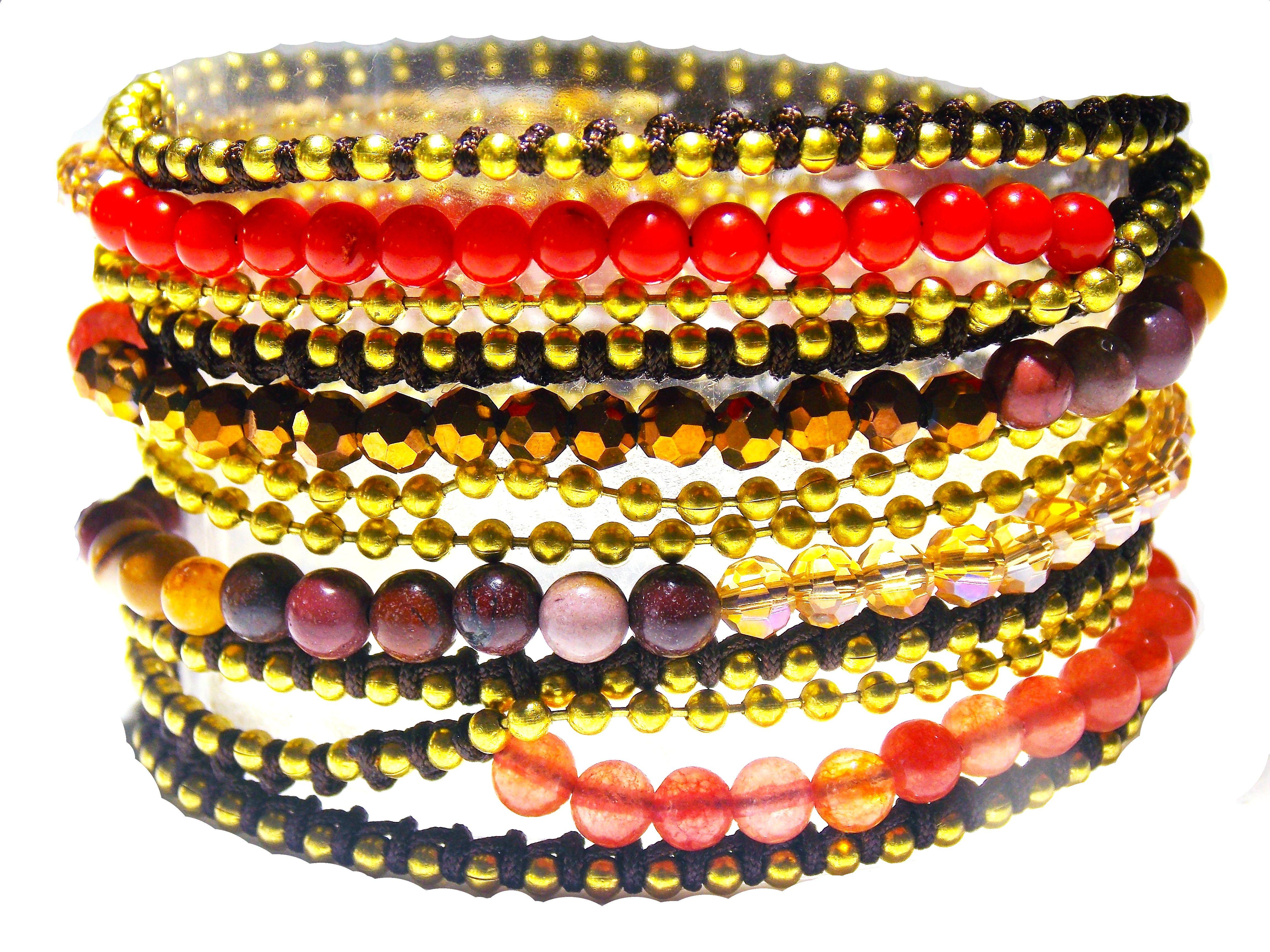 2 in 1 – Cornelian & Aventurine Bracelet/Necklace
