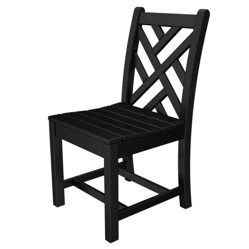 Polywood Chippendale Recycled Plastic Dining Side Chair