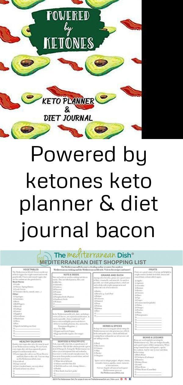 #Avocado #bacon #Diet #fitness #Journal #Keto #ketones #male #Planner #powered #Weight Powered By Ke...