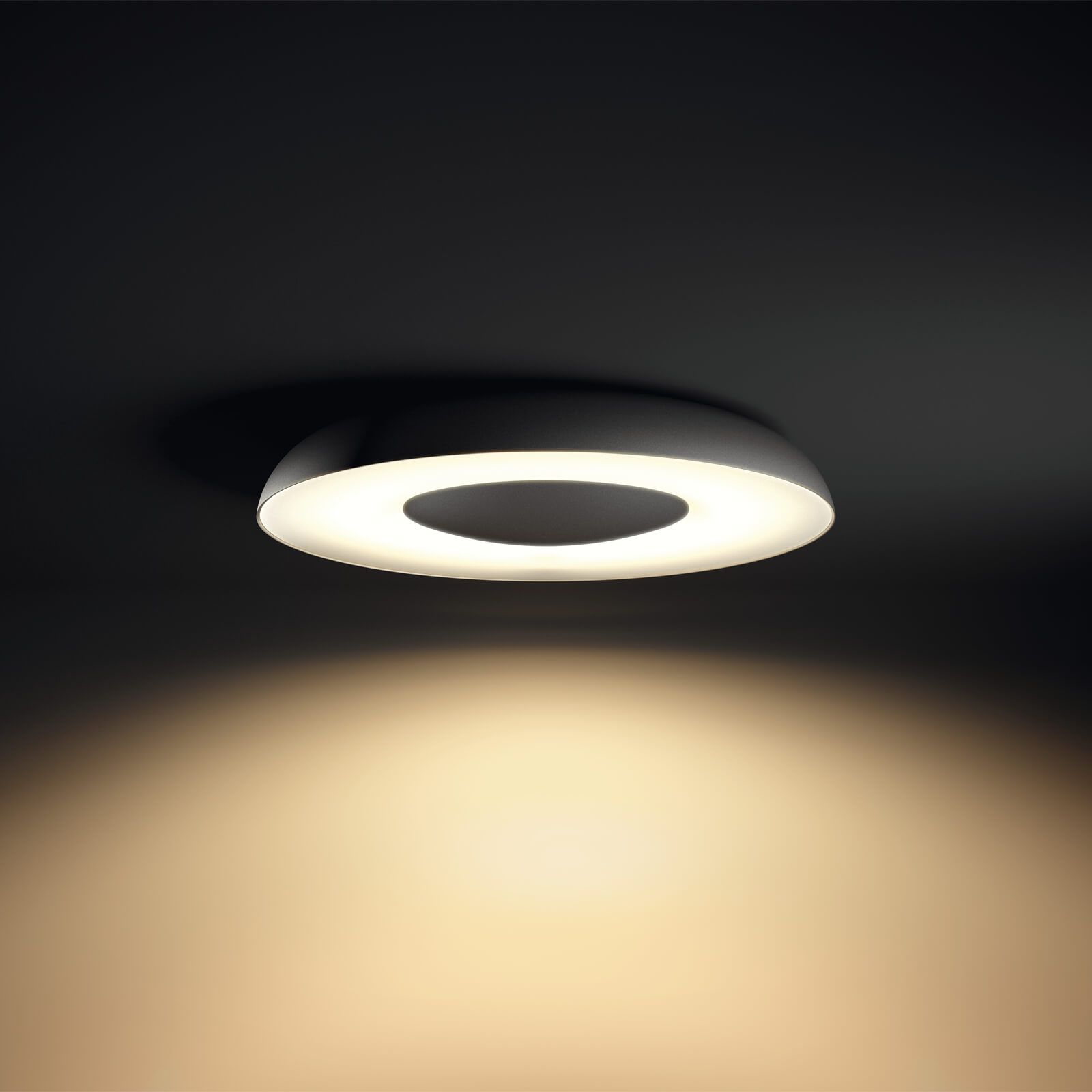Philips Hue Still plafondlamp zwart (White Ambiance, incl DIM switch ...