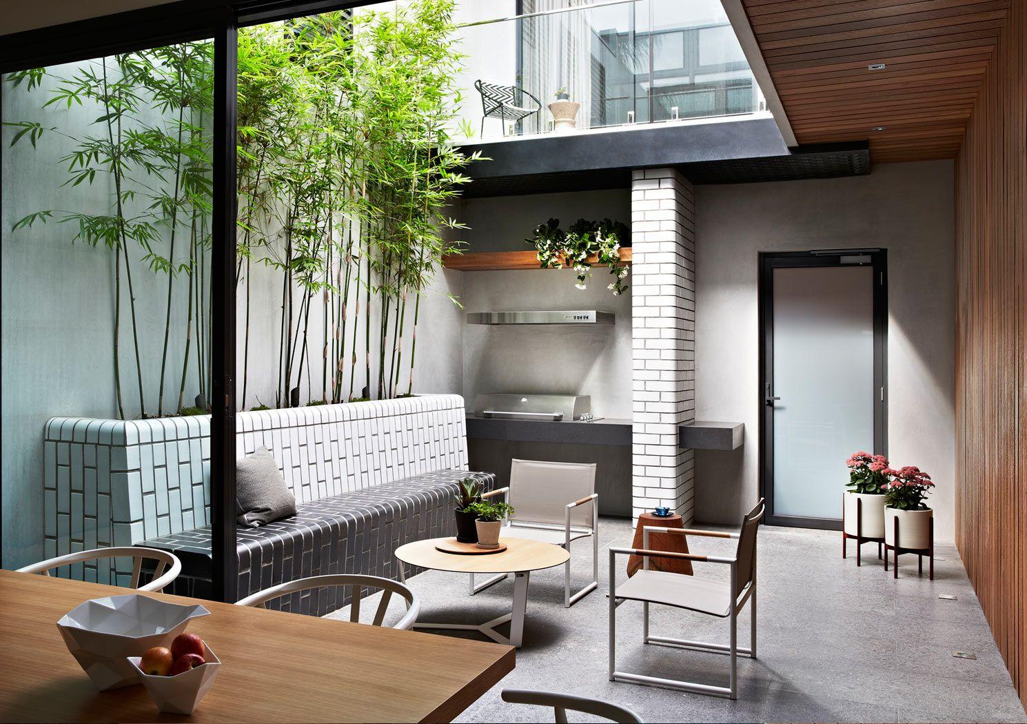 nathan burkett landscape architect / residential garden, prahan ...