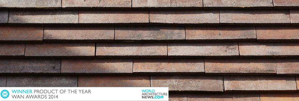 SKÆRMTEGL PETERSEN COVER Winner of the  WAN Product Innovation Award 2014 / Facadess