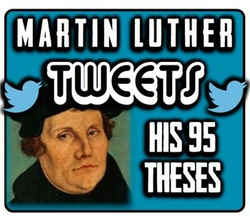 martin luther 95 theses quizlet Martin luther's dirty little book:  a little about dr martin luther  (note that although people generally believed that luther nailed these theses to the.