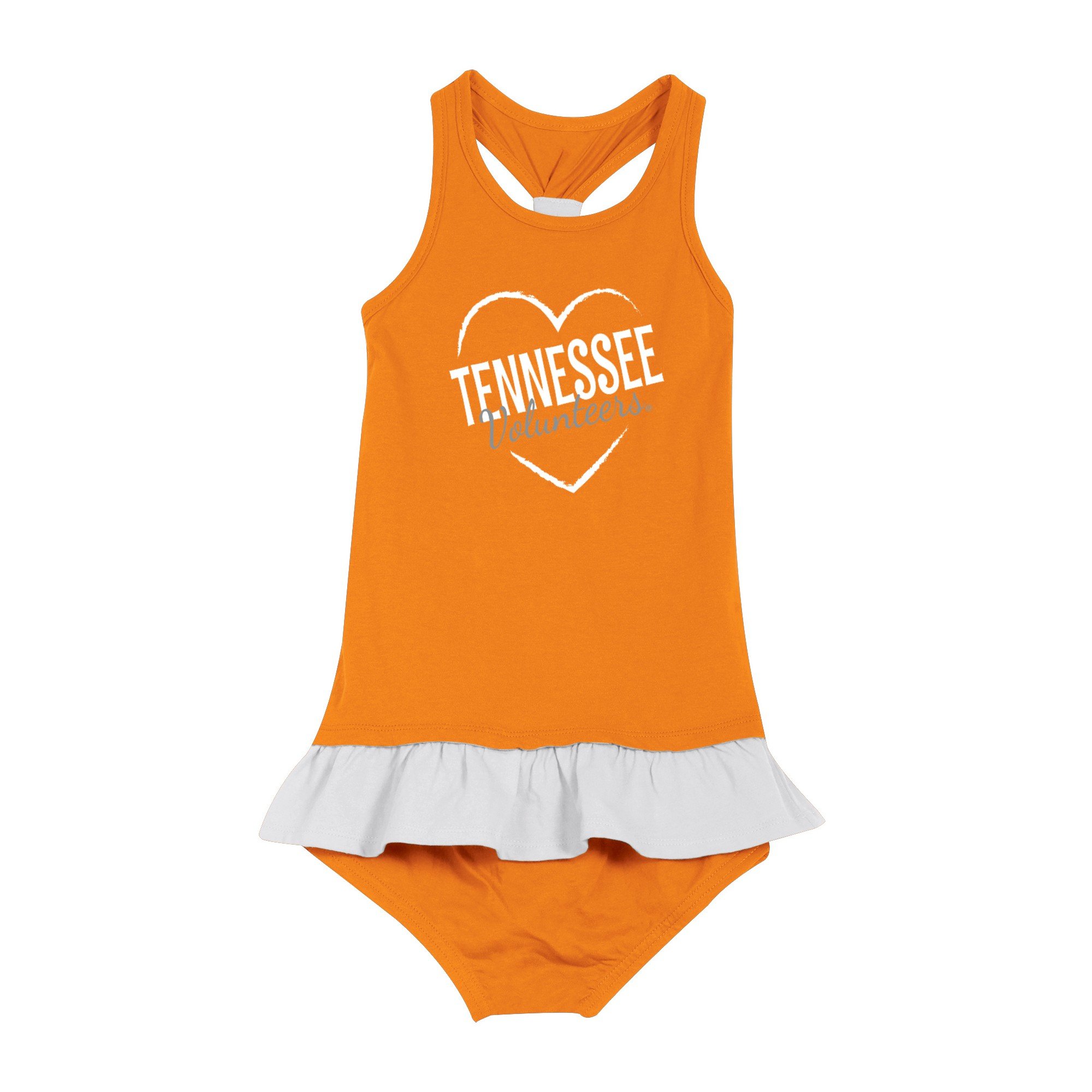 Tennessee Volunteers After Her Heart Newborn Infant Dress 18 M