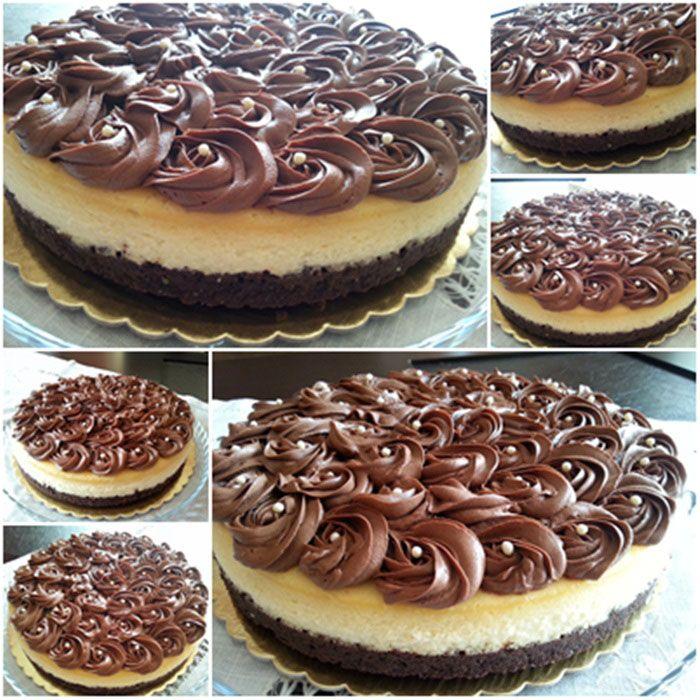 Photo of Brown Cheesecake