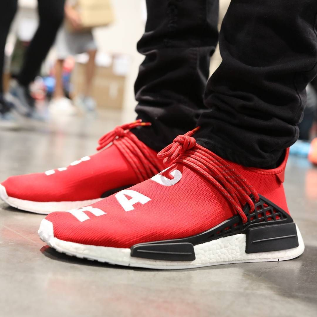 c362b9c8fe0ade Pharrell x adidas NMD Human Race Scarlet Red