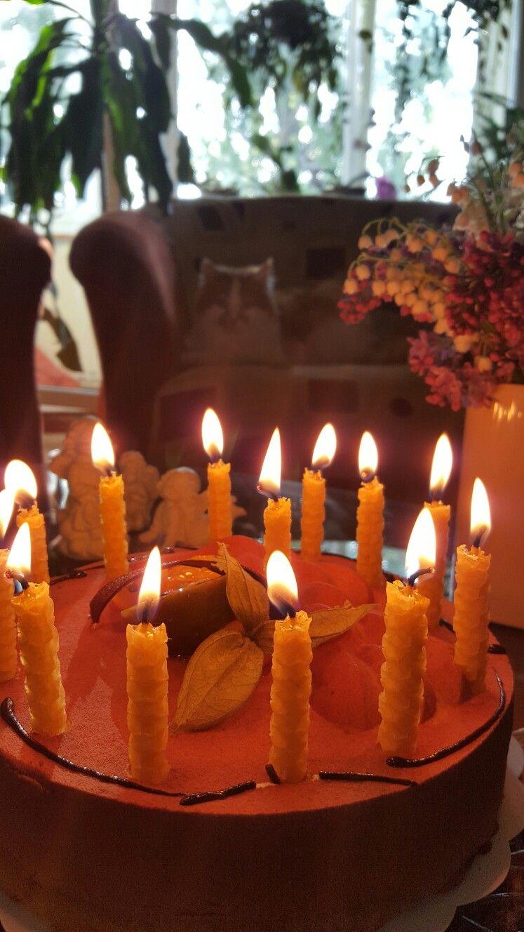 Birthday cake candles set of 12 burning time up to 20
