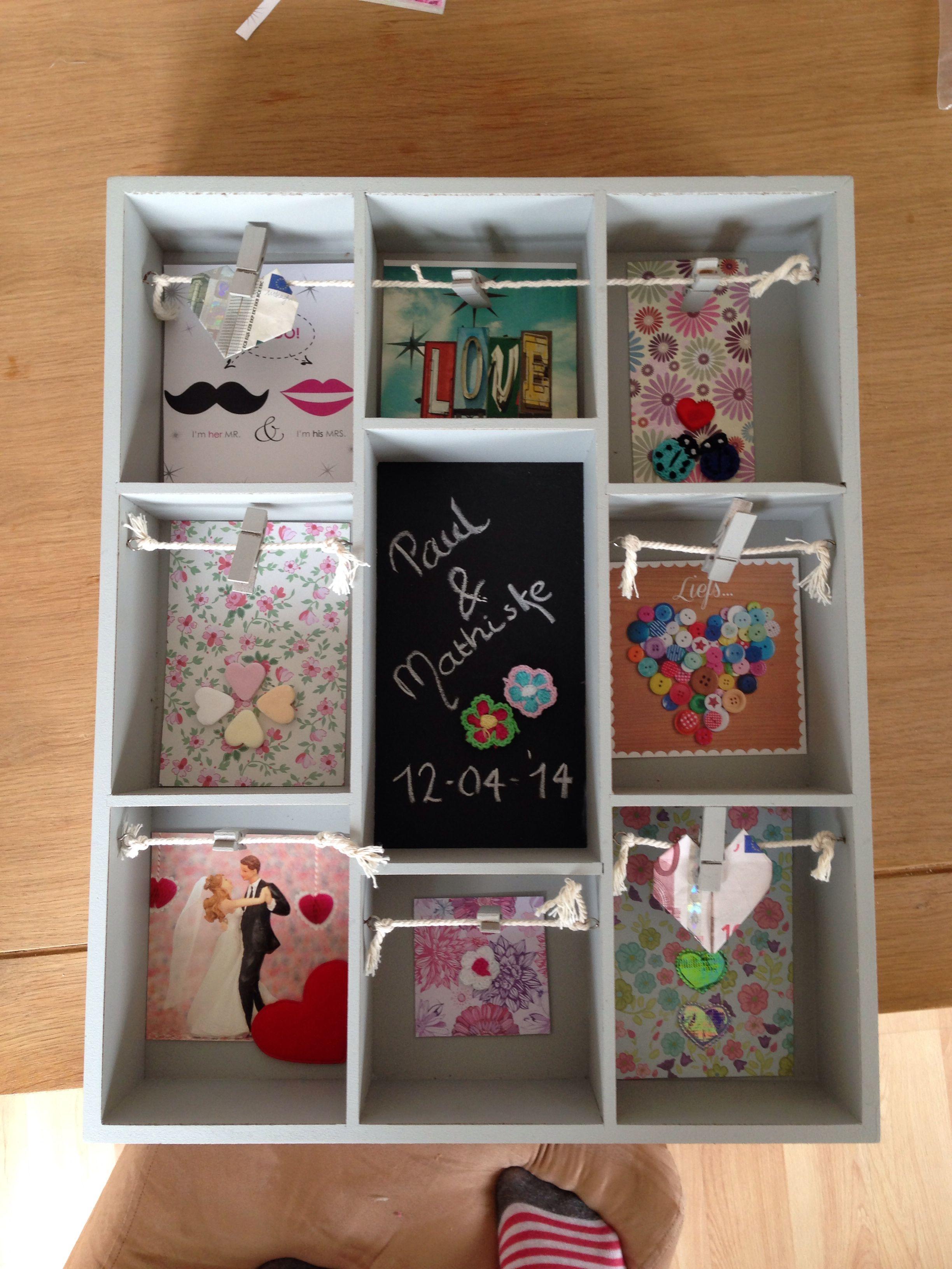 Vaak Bruiloft! Leuke manier om geld te geven. | Gifts home made  #YY17