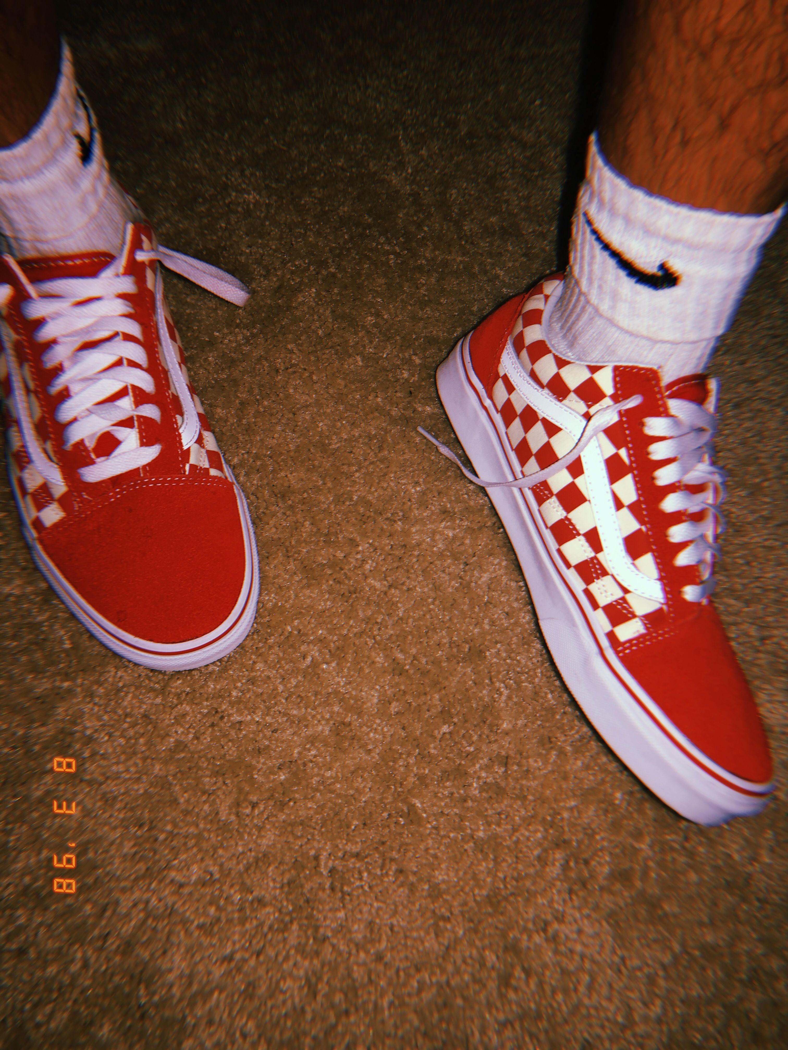 primary check old skool  shop classic shoes  red vans