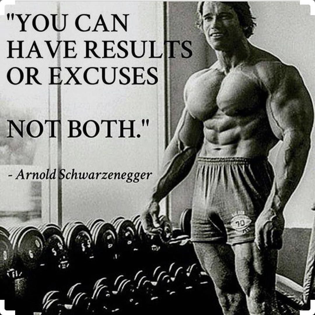 arnold #fitness #gym #quotes #fitnessquotes #motivationalquotes #fitfam  #fitness #muscle #gymshark #ar… | Bodybuilding quotes, Fitness motivation  quotes, Gym quote