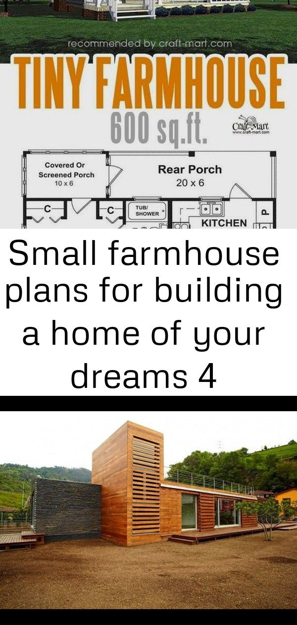 Small farmhouse plans for building a home of your dreams 4 #chipandjoannagainesfarmhouse