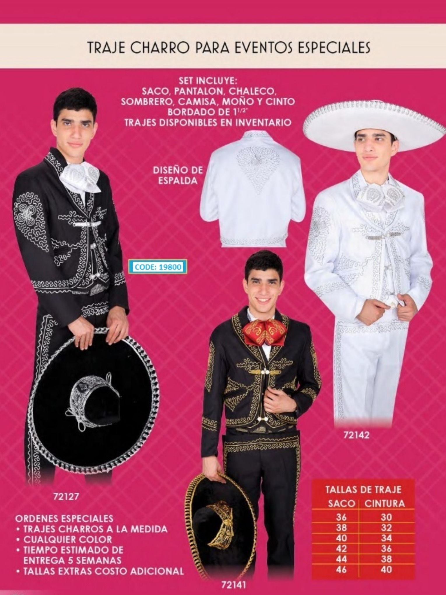 Productos Mexicanos - Catalogo Vol im2019   Mariachi suit ...
