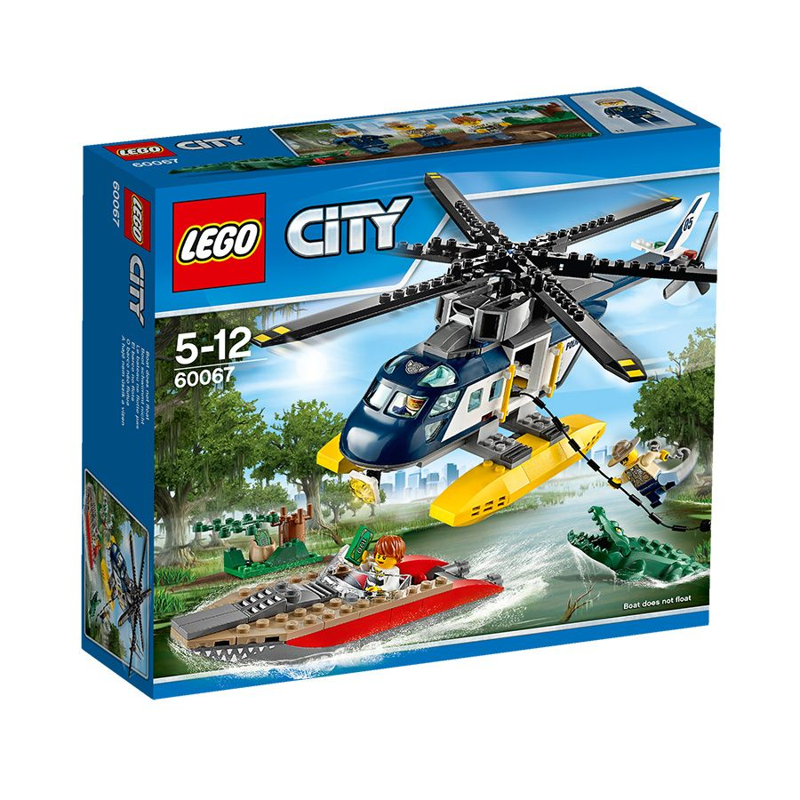 Lego City Helicopter Pursuit Toys R Us Australia Lego Kinderen