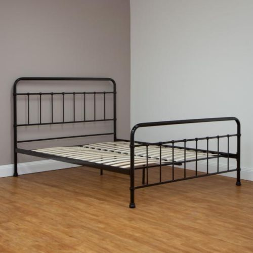 Black Steel Beds Mattresses