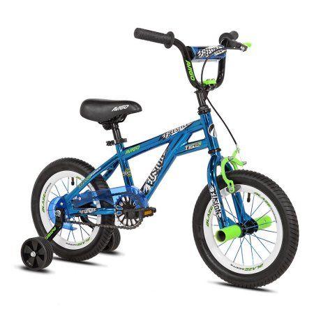 Avigo 14 Inch Boys Fusion Bike Blue For Ages 3 7 Boy Bike