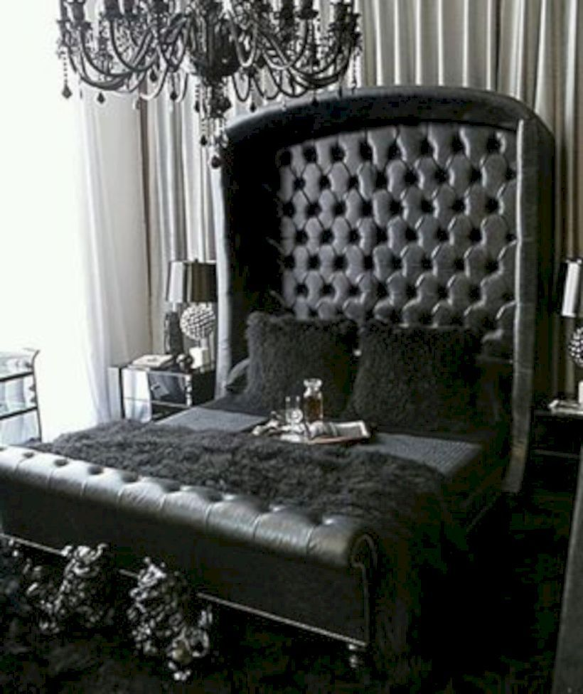 47 Best Gothic Bedroom Design Ideas