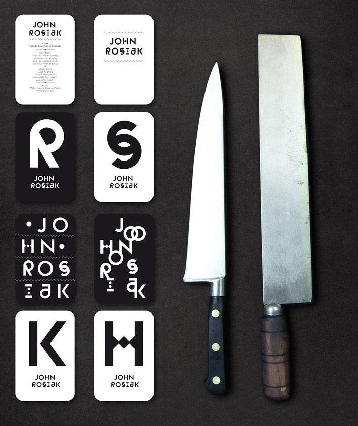 John Rosiak branding by Atelier Müesli