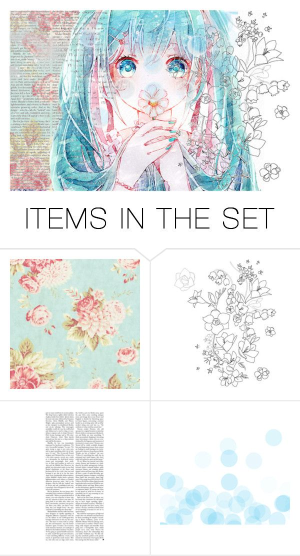 """#back#blue#flowerpower#bluehair"" by jewelsvang ❤ liked on Polyvore featuring art"
