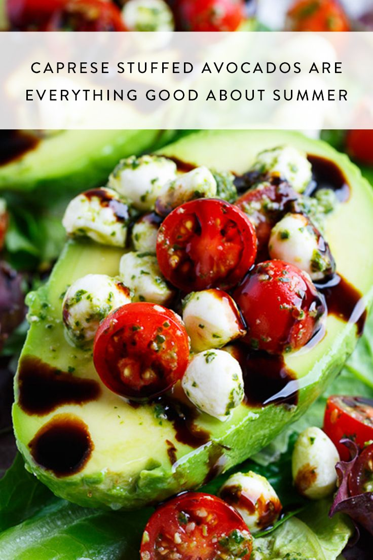 Photo of Caprese Stuffed Avocados Are Everything Good About Summer