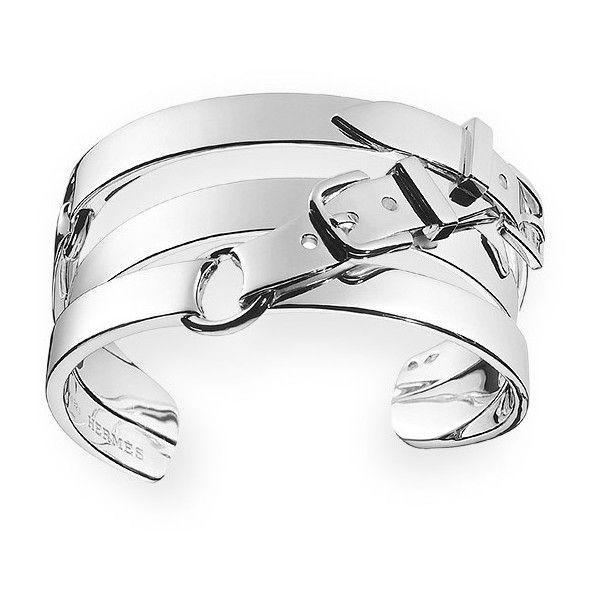 Hermès silver arm candy