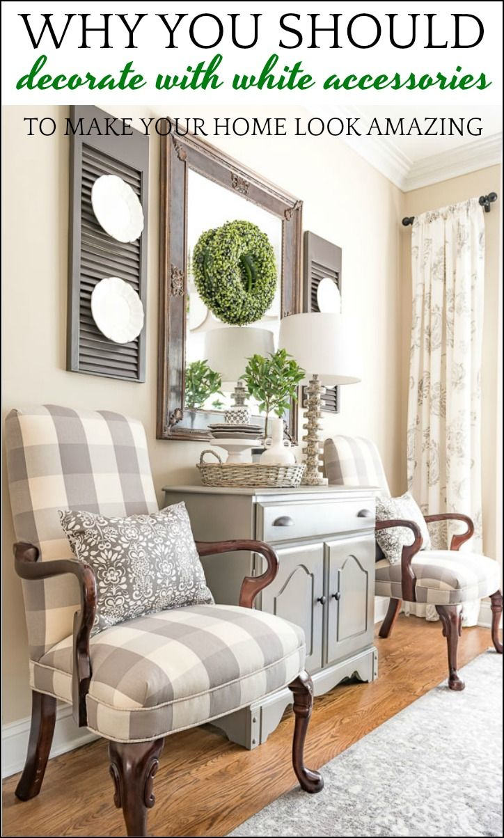 High Quality Why Decorating With White Room Accessories Will Make Your Home Look Amazing