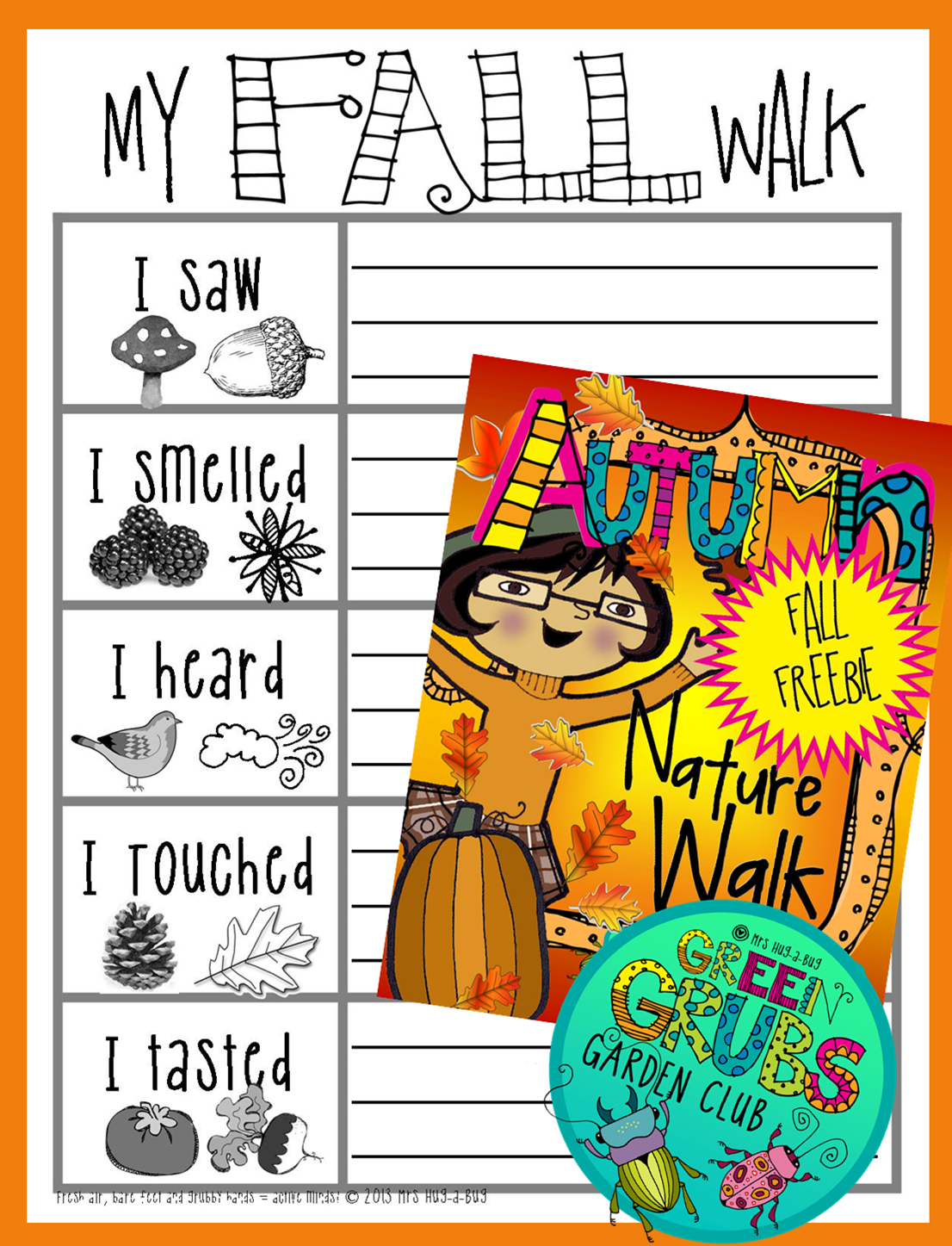 Fall Autumn Nature Walk Freebie
