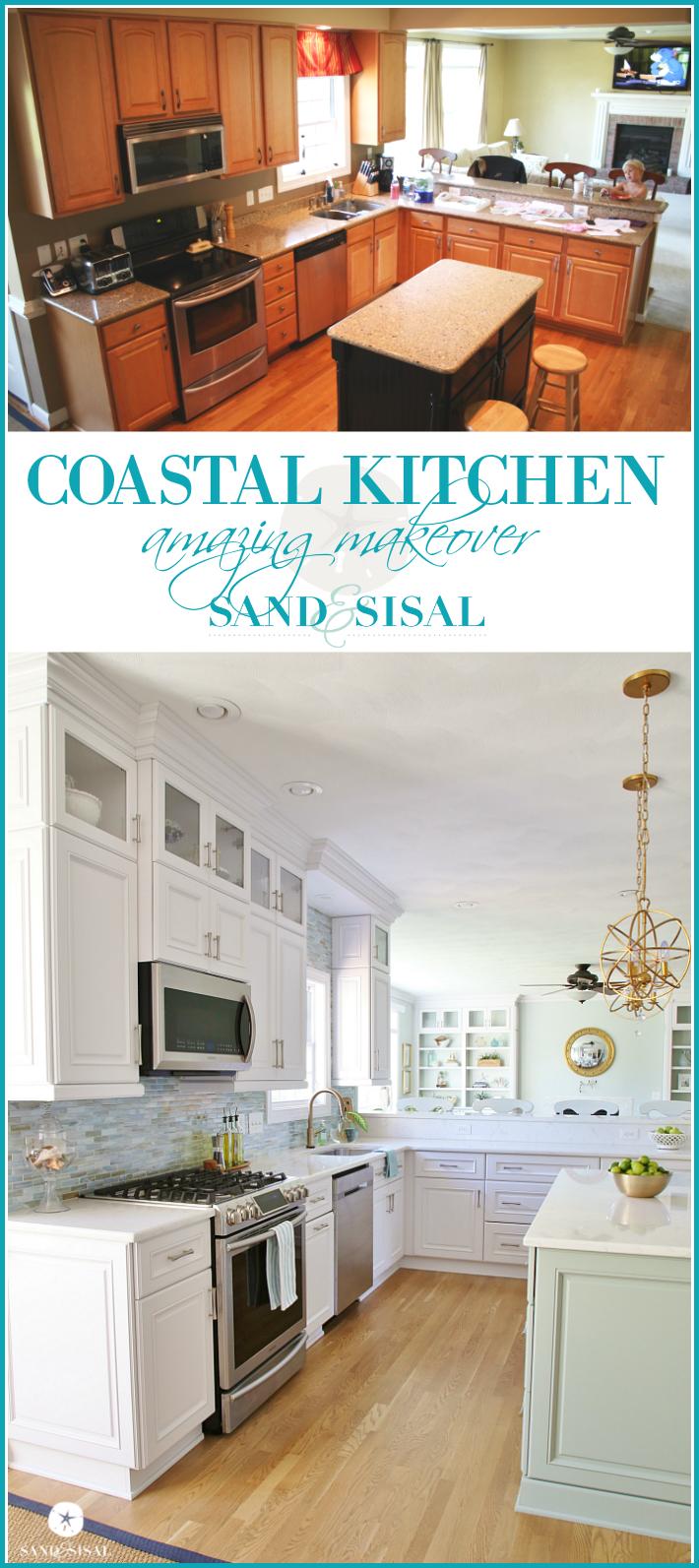 Coastal Kitchen Makeover  the reveal  Coastal Living