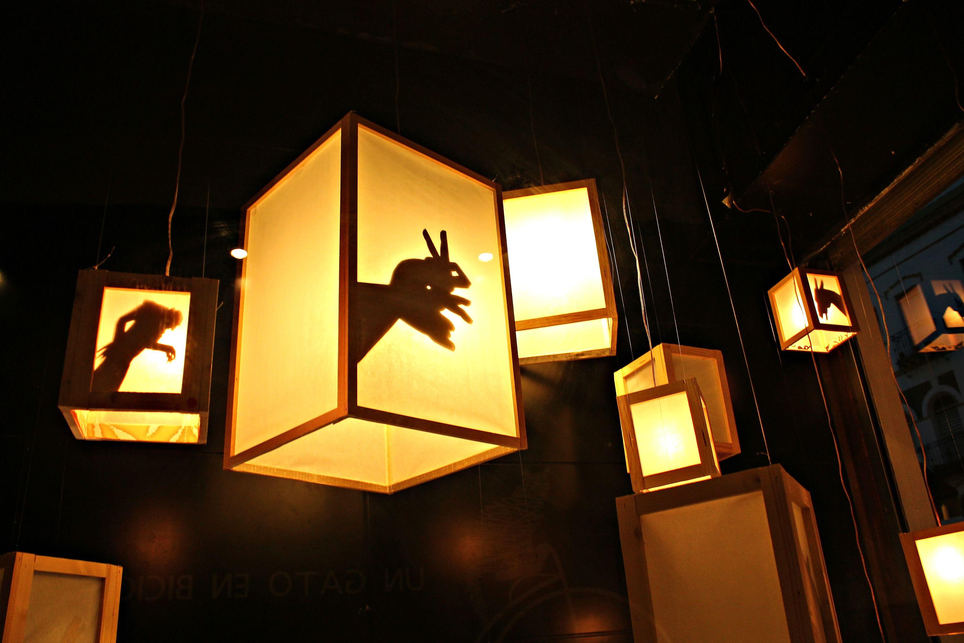 Artsy lamps
