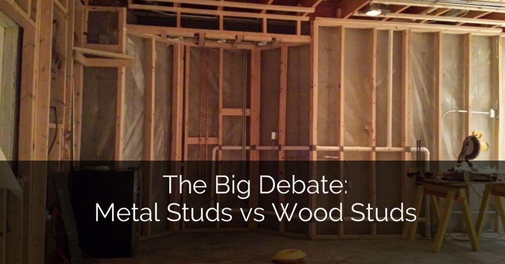 The Big Debate Metal Studs vs Wood Studs Metal stud