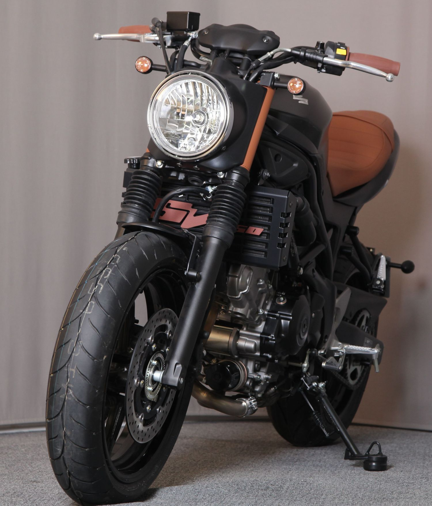 Suzuki SV 650, a road bike with a sporting character