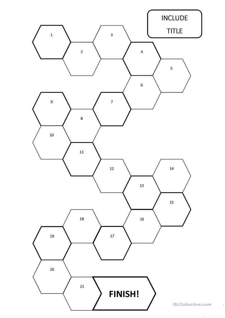 Boardgame Template Worksheet Free Esl Printable Worksheets Made By Teachers Board Game Template Board Games Phonics Games
